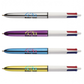 Bic 4 Colours Shine balpen