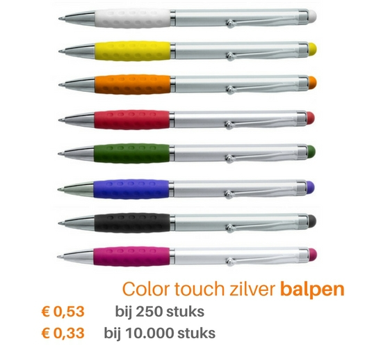 Color touch zilver