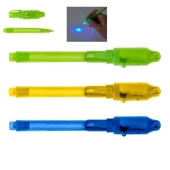 Magic pen met onzichtbare inkt en UV licht