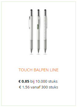 touchscreen pen bedrukken